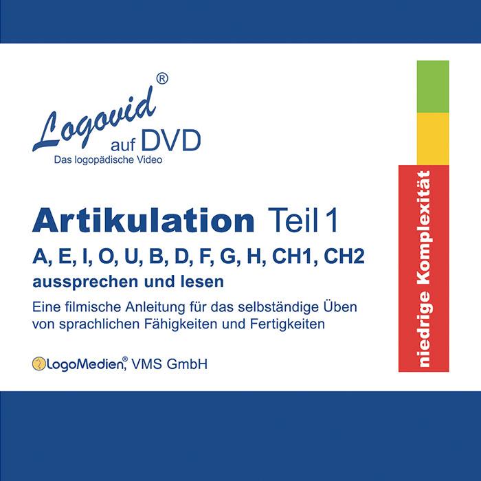 Cover Logovid Artikulation Teil 1
