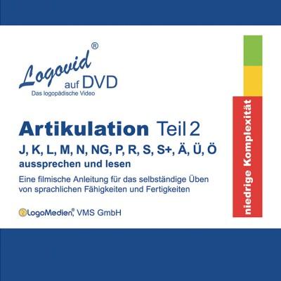Cover Logovid Artikulation Teil 2