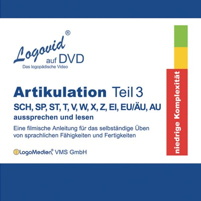 Cover Logovid Artikulation Teil 3