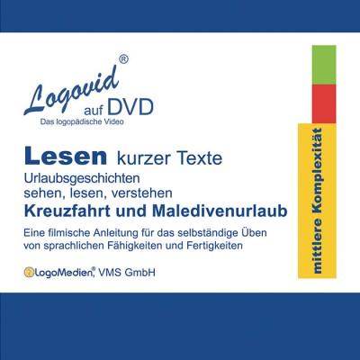 Cover Logovid Lesen kurzer Texte