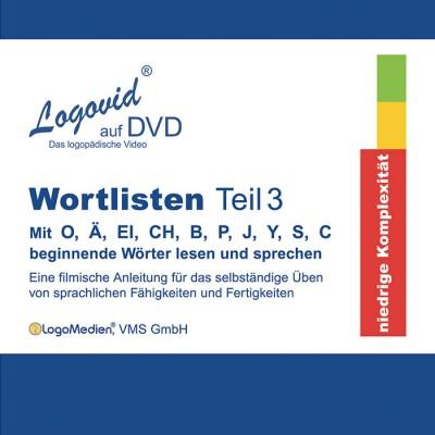 Cover Logovid Wortlisten Teil 3