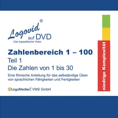 Cover Logovid Zahlenbereich 1-100 Teil 1