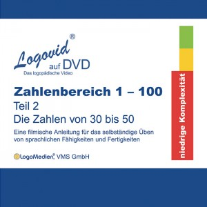 Cover Logovid Zahlenbereich 1-100 Teil 2