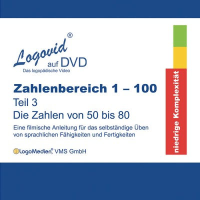 Cover Logovid Zahlenbereich 1-100 Teil 3