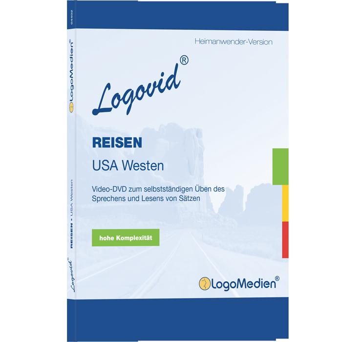 Cover des Logovid REISEN USA Westen