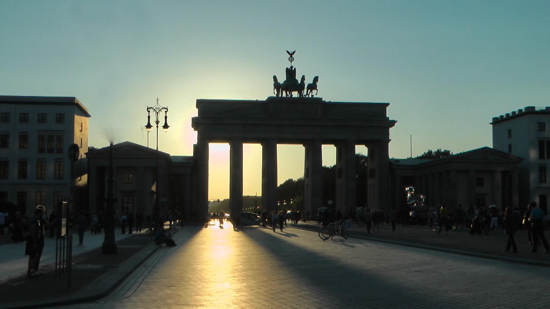 BrandenburgerTor REISE-Logovid Berlin von LogoMedien