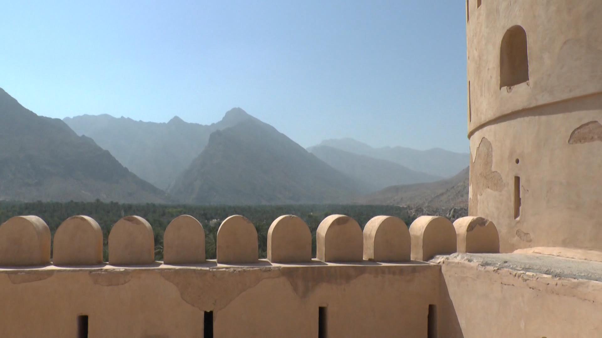 REISE-Logovid Oman Palast von Jabrin