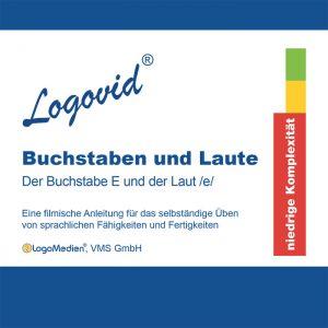 Cover Logovid Buchstaben und Laute - Der Buchstabe E und der Laut e