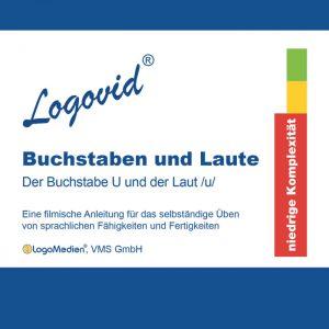 Cover Logovid Buchstaben und Laute - Der Buchstabe U und der Laut u